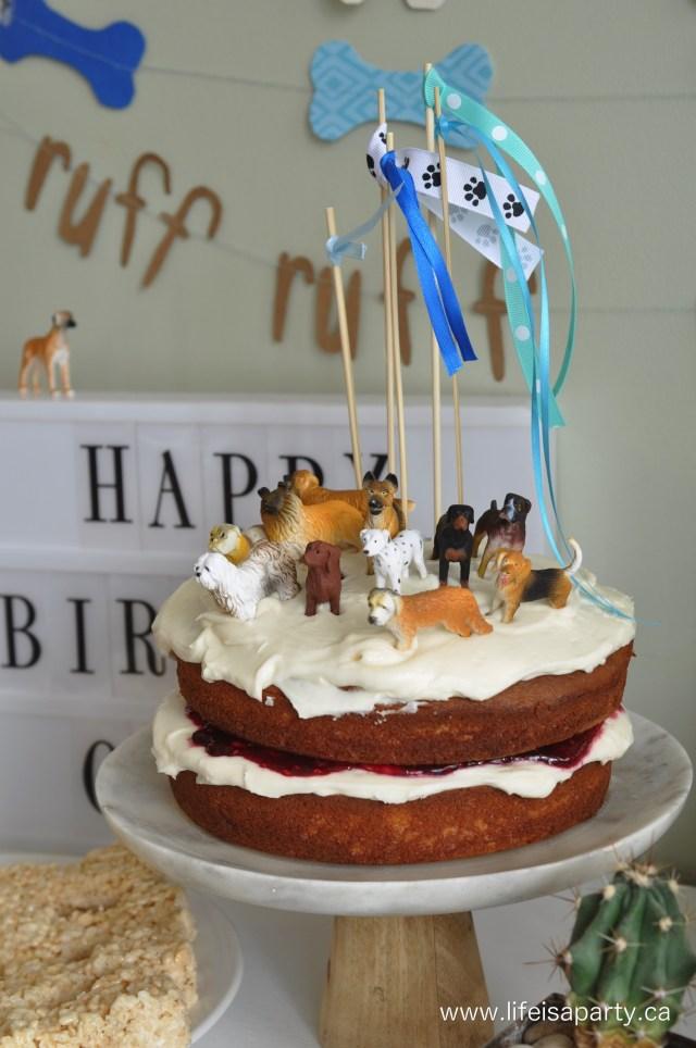 Dog Themed Birthday Cake Puppy Dog Birthday Party