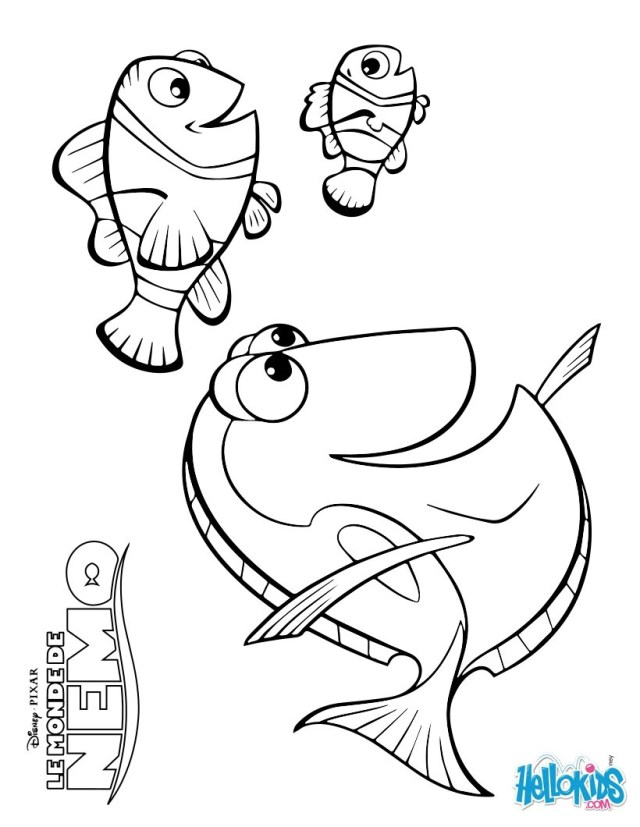 Dory Coloring Pages Finding Dory Coloring Luxury Images Cool Finding Nemo Coloring