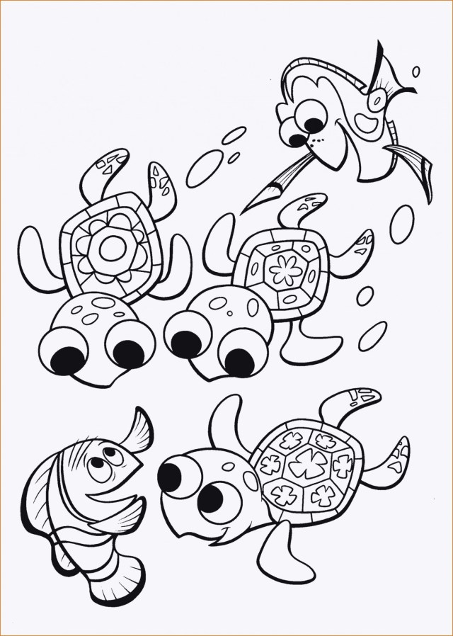 Dory Coloring Pages Finding Dory Coloring Pages Best Collections Of 32 Ausmalbilder Nemo