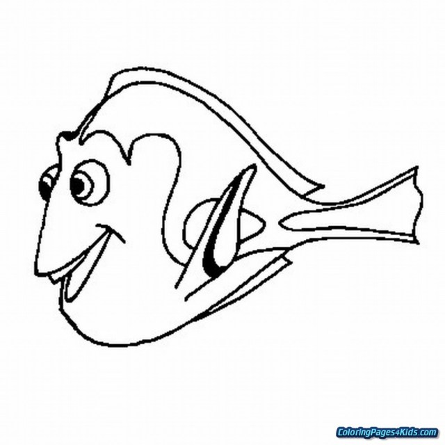 Dory Coloring Pages Nemo And Dory Coloring Pages Free Printable Coloring Pages