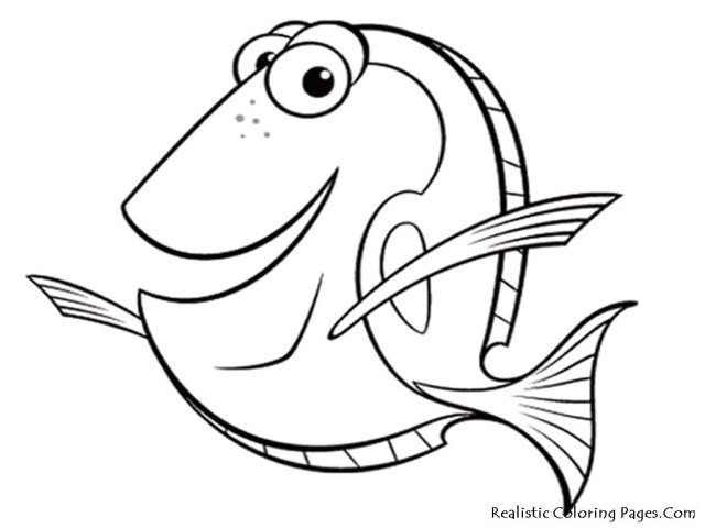 Dory Coloring Pages Portfolio Nemo And Dory Coloring Pages Fish 7 Free Printables 16104
