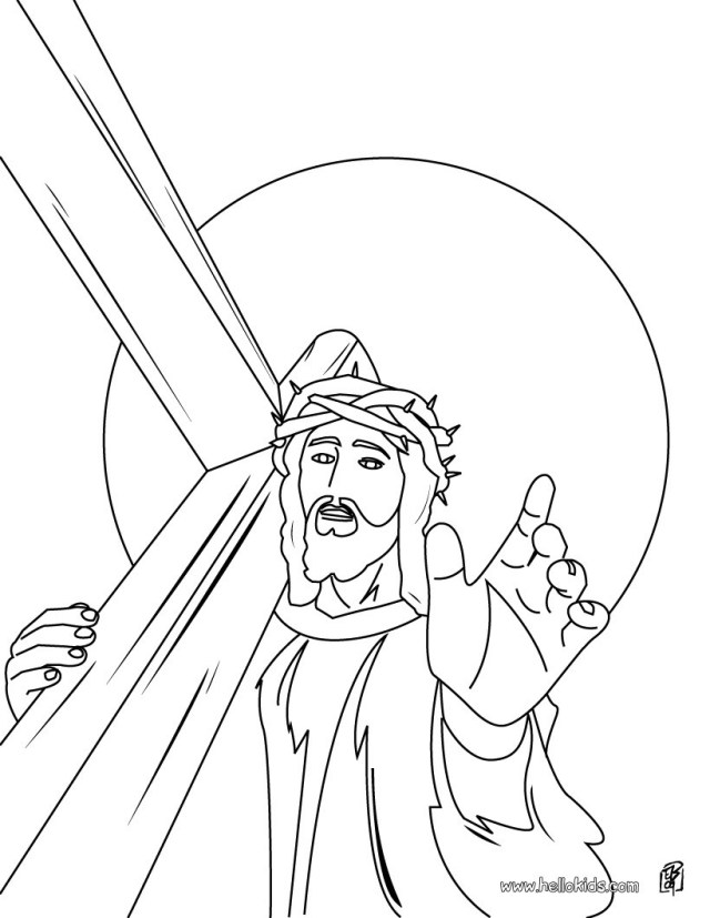 Easter Coloring Pages Religious Religious Easter Coloring Pages 11 Online Jesus Coloring Books And