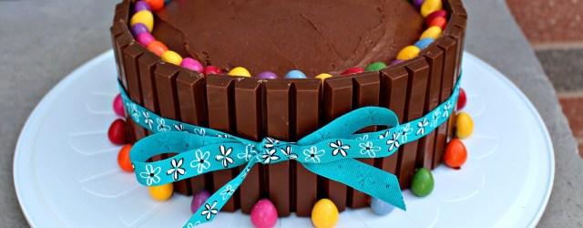 Easy Birthday Cake Ideas Kit Kat Cake Recipe Cakes Cake Birthday Cake Cake Recipes
