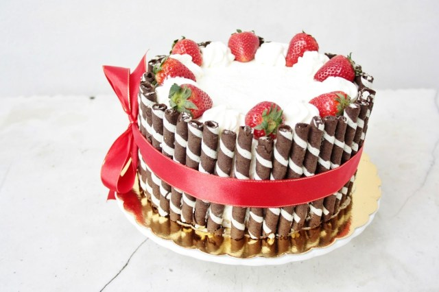 Easy Birthday Cake Recipe Elegant Birthday Cakes For Women Simple Yet Elegant Strawberry