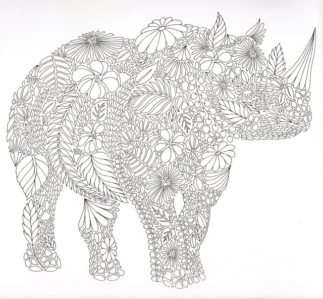 Elephant Adult Coloring Pages Elephant Adult Coloring Pages Beautiful Images Animaux Fantastiques