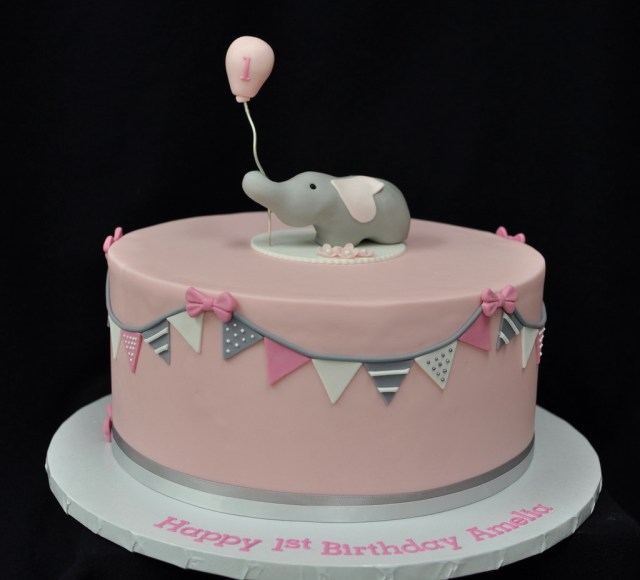 Elephant Birthday Cakes Elephant Birthday Cake Jenny Wenny Flickr