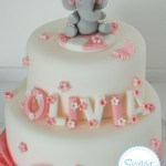 Elephant Birthday Cakes Elephant Cake Topper Decoration Set Christening Birthday