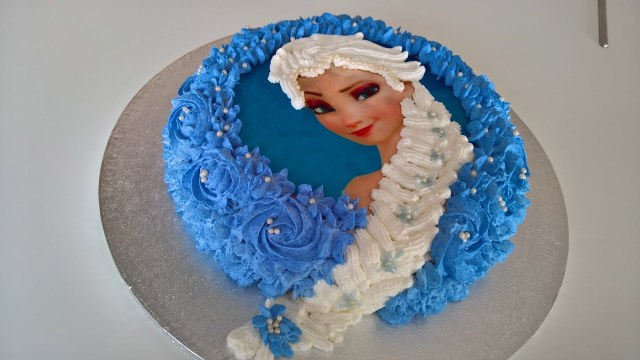 Elsa Birthday Cake Frozen Birthday Cake Tutorial From Basic Ingredients Youtube