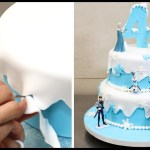 Elsa Birthday Cakes How To Make A Frozen Disney Cake Cakesstepstep Youtube