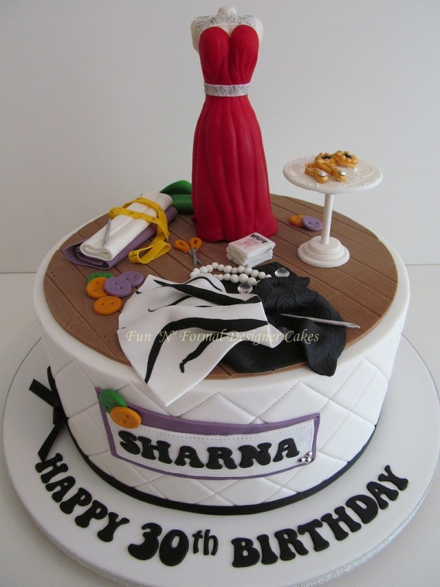 Fashion Birthday Cake Fashion Designer Themed Birthday Cake Sharna Is An Up And Flickr