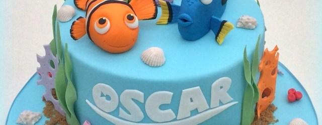 Finding Nemo Birthday Cake Finding Nemo Cake Carter Nemo Nemo