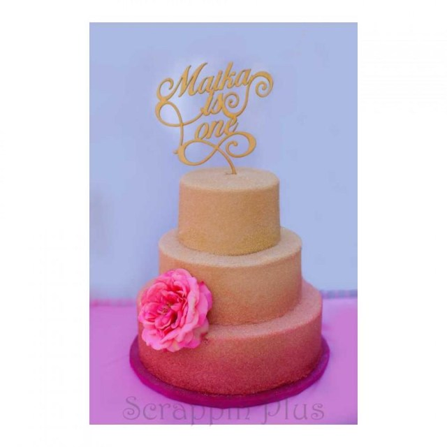 First Birthday Cake Topper Someone Is Turning One Wooden Cake Topper Someone Is One Custom