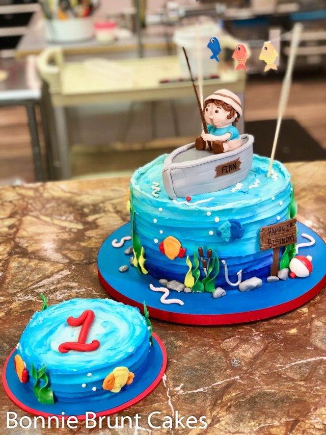 Fishing Birthday Cakes Fisherman Cake Cake Of The Week