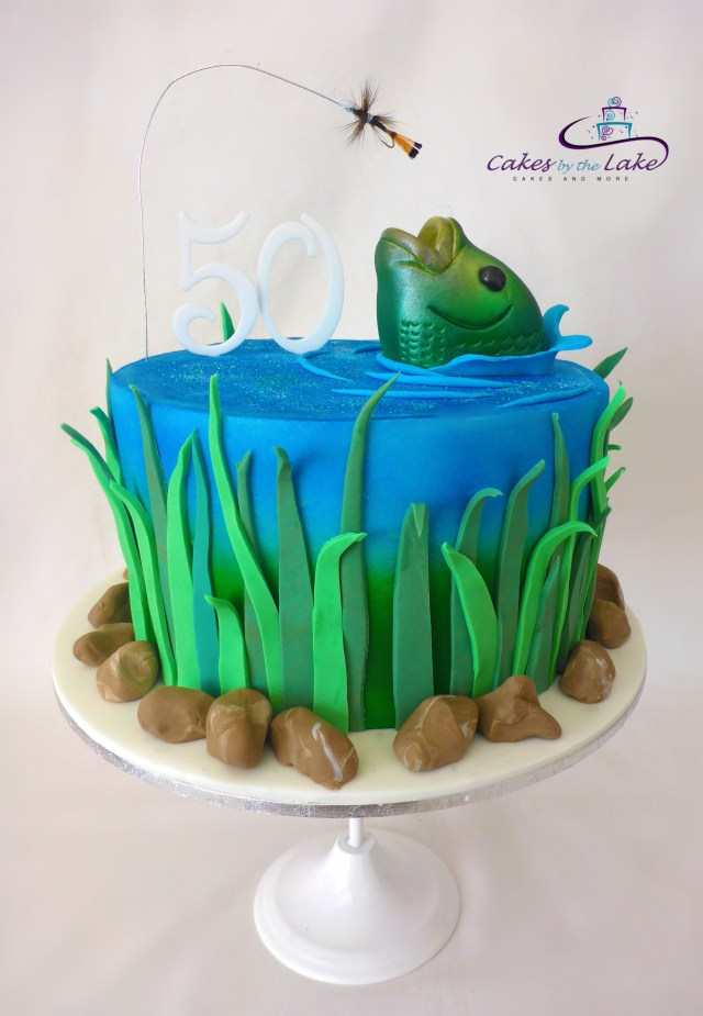 Fishing Birthday Cakes Something Fishy Fly Fishing Cake Another Of Our Cakes From This