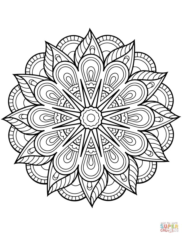 Free Mandala Coloring Pages Coloring Page Mandala Coloring Pagesntable Wonderfully Free