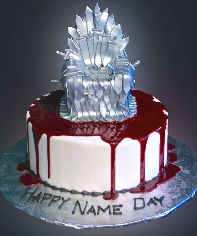 Game Of Thrones Birthday Cake Game Of Thrones Cake Sweet Somethings Desserts
