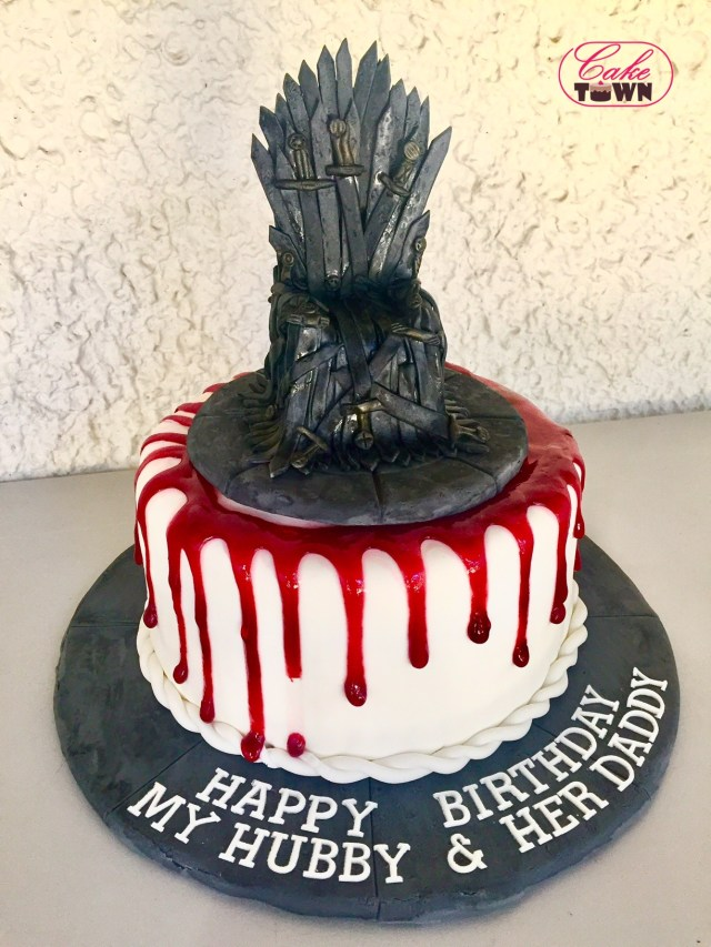 Game Of Thrones Birthday Cake Game Of Thrones Red Velvet Morello Cherry Cake That Baker Girl