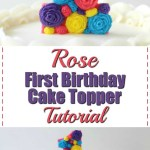 Girls First Birthday Cake 3 Diy First Birthday Cake Toppers For Girls I Scream For Buttercream