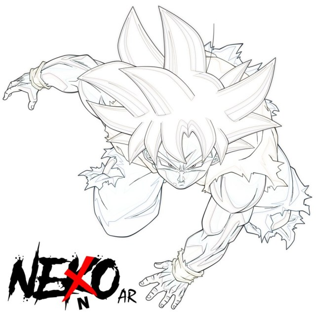 30+ Excellent Picture of Goku Coloring Pages ...
