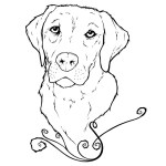 Golden Retriever Coloring Page Golden Retriever Puppies Coloring Pages Home Fresh Design Best