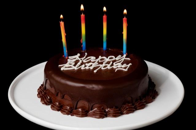 Gourmet Birthday Cakes 2 Layer Chocolate Birthday Cake Send Birthday Cakes Online