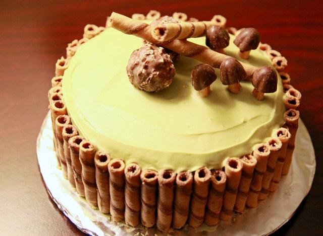 Green Birthday Cake Green Tea Cake Cupcakes Savoring Spoon Savoring Spoon