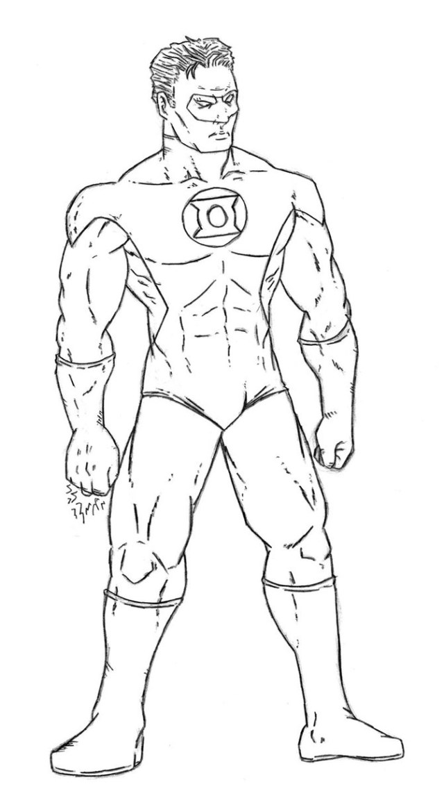 Green Lantern Coloring Pages Green Lantern 6 Superheroes Printable Coloring Pages Striking New