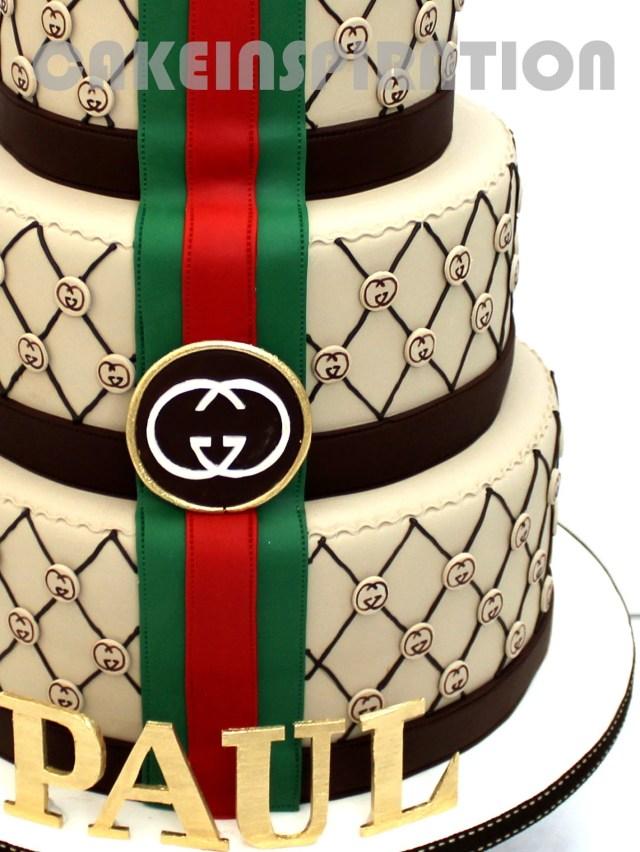 Gucci Birthday Cake The Sensational Cakes 3d Elegant Gucci Theme Designer Cake For Vip