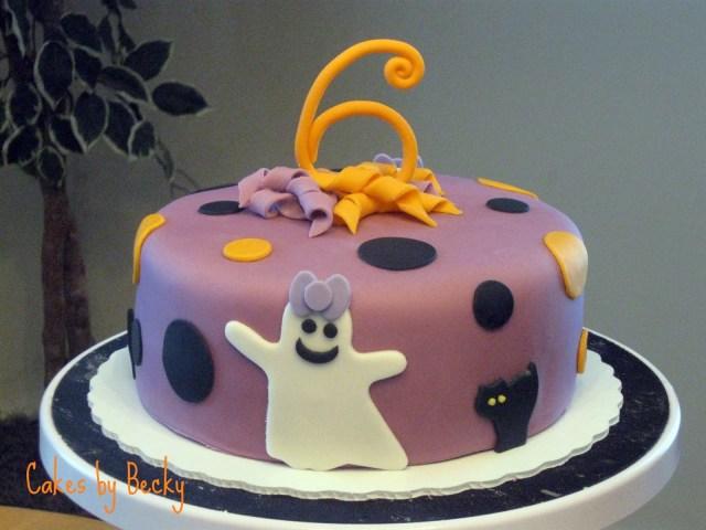 Halloween Birthday Cake Ideas Cakes Becky Not So Scary Halloween Birthday Cake