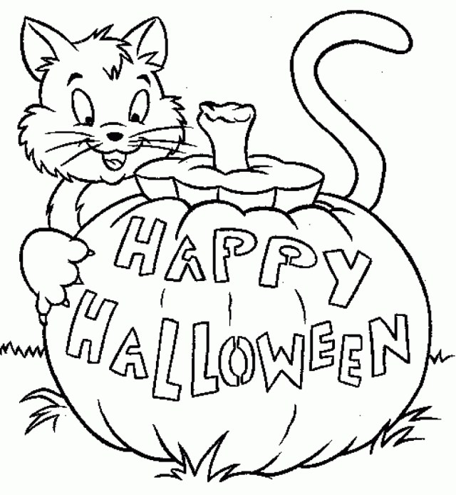 Halloween Coloring Pages Printable Kids Halloween Coloring Sheets Printable The Art Jinni