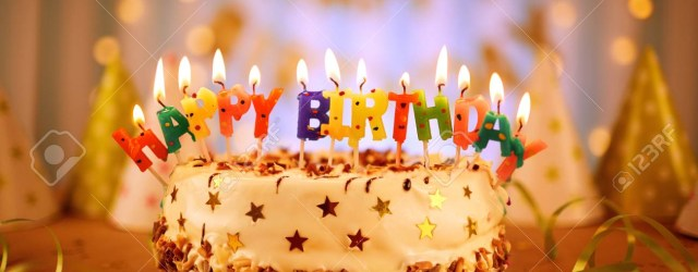 Happy Birthday Cake With Candles Happy Birthday Cake With Candles Stock Photo Picture And Royalty