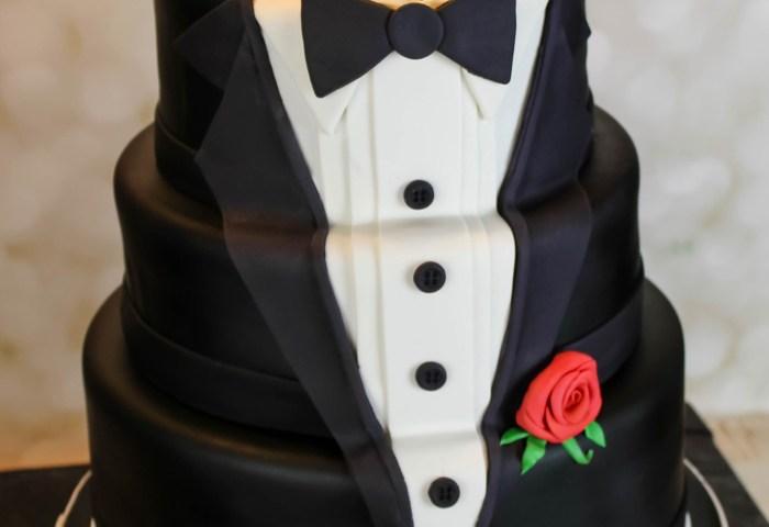 Happy Birthday Cakes For Him 60th Birthday Tuxedo Cake Cake Designs