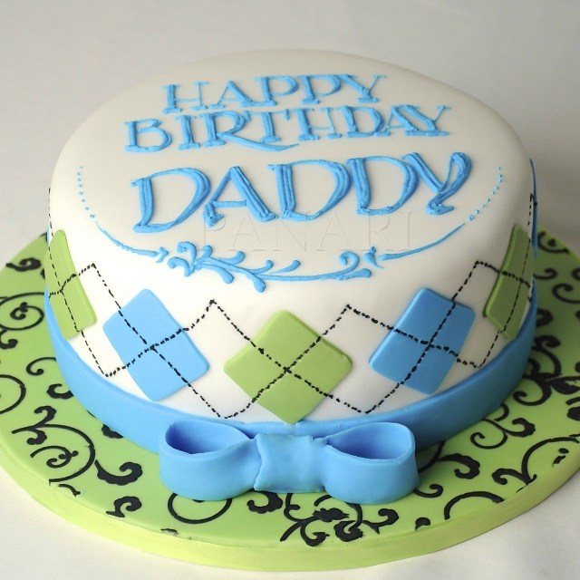 Happy Birthday Cakes For Him Happy Birthday Daddy Cakes In 2019 Cake Birthday Cake