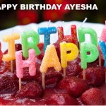 Happy Birthday Cakes With Name Ayesha Birthday Song Cakes Happy Birthday Ayesha Youtube