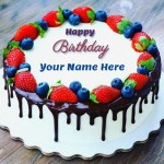 Happy Birthday Cakes With Name Images Of Happy Birthday Cake Name Maker Online Birthday Cake Within