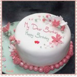 Happy Birthday Cakes With Name Pin Wafa Batool On Happy Birthday Pinterest Birthday