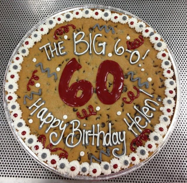 Happy Birthday Cookie Cake Gourmets Cookie Cakes Cookies Design Arlington Tx