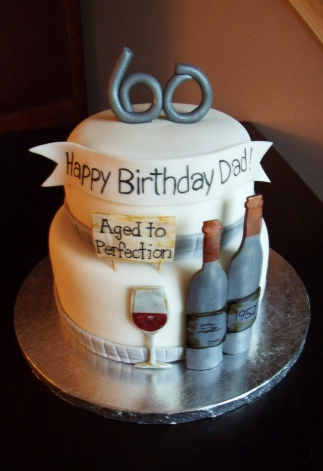 Happy Birthday Dad Cake 60th Birthday Party Ideas Google Search Big Parties Pinterest