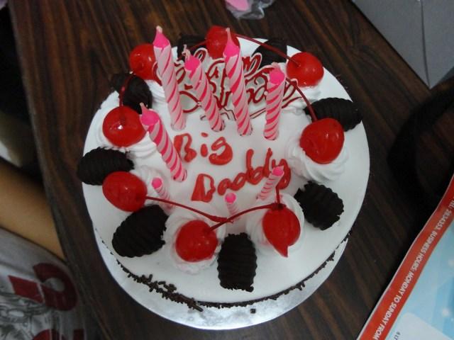 Happy Birthday Dad Cake Happy Birthday Big Daddy Cake Graphic