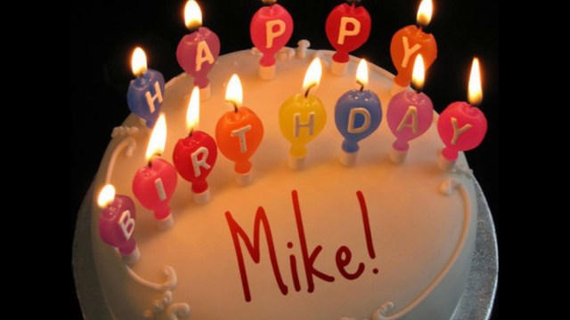 Happy Birthday Mike Cake Happy Birthday Mike Youtube