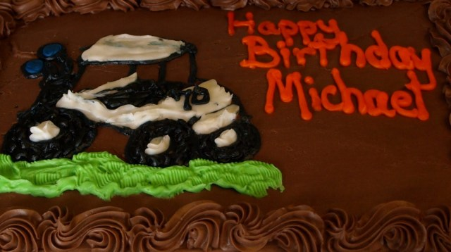 Happy Birthday Mike Cake Mikes Notes And Pics Happy Birthday Michael Cake