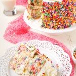 Homemade Birthday Cake Recipes Funfetti Birthday Cake Sugar Soul