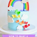 How To Make Birthday Cake How To Make A Rainbow Birthday Cake A House Full Of Sunshine