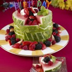 Images Of Happy Birthday Cake Watermelon Board Birthday Cake