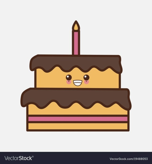 Kawaii Birthday Cake Kawaii Happy Birthday Cake Amazingbirthdaycakesml