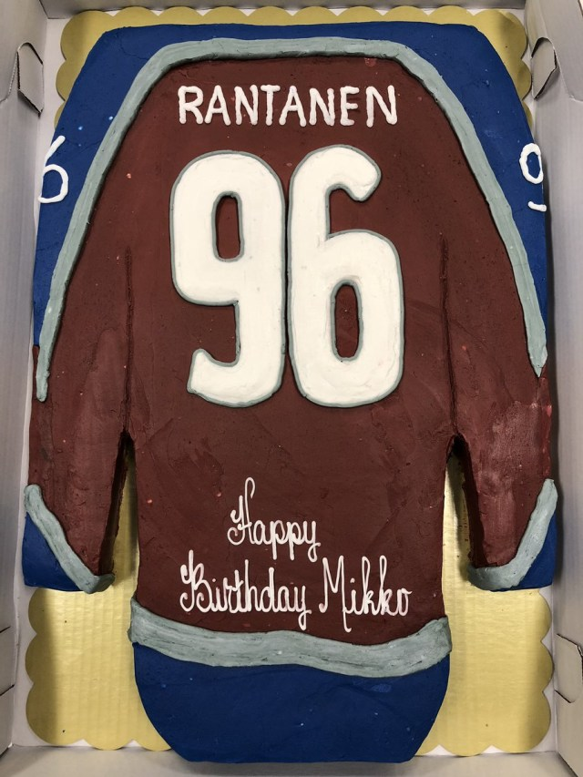 King Soopers Birthday Cakes Colorado Avalanche On Twitter What Better Way To Celebrate Mikkos