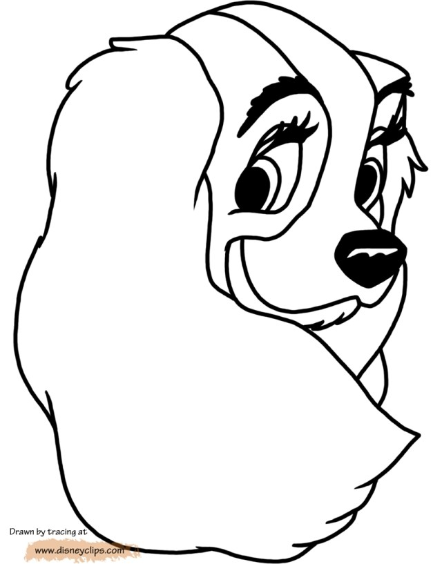 Lady And The Tramp Coloring Pages Lady And The Tramp Coloring Pages 23 Collections Free Coloring Pages