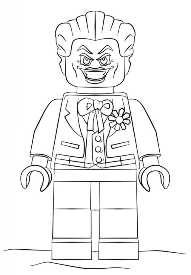 Lego Coloring Pages Kids N Fun Coloring Page Lego Batman Movie Lego Joker