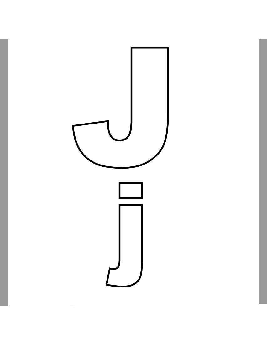 Letter J Coloring Page Letter J Coloring Pages Inspiring Alphabet Fan Art Get Coloring Page