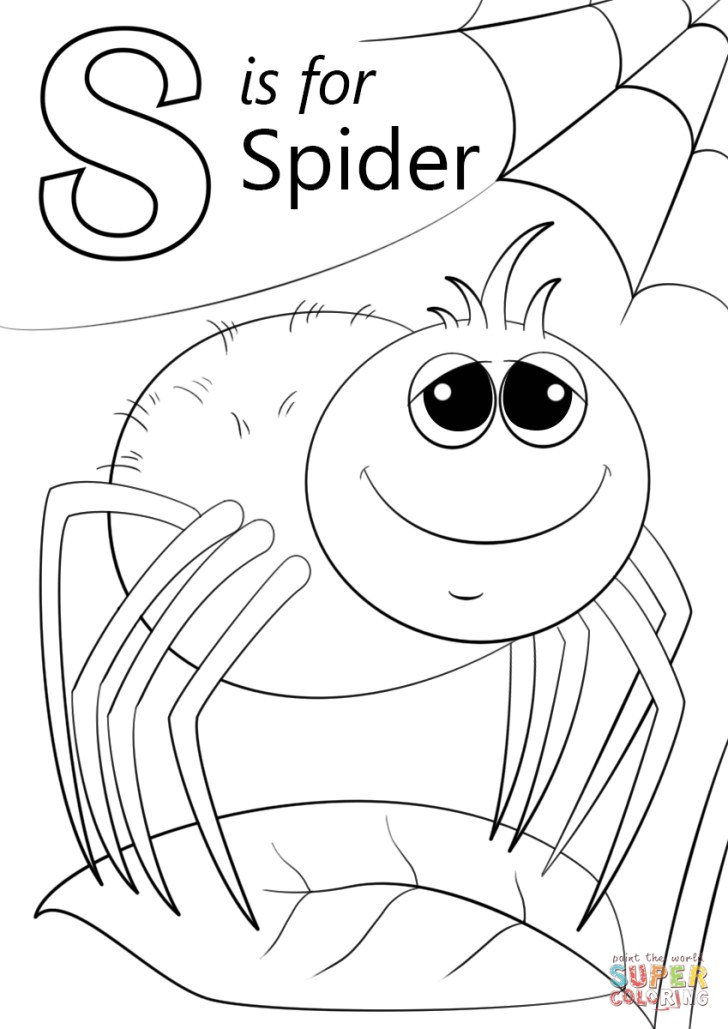Excellent Image of Letter S Coloring Pages